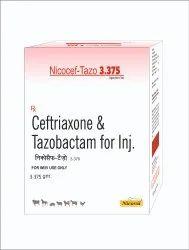 NICOCEF TAZO Antibiotic Nicocef-Tazo 3.375 Injection, Packaging Size: 3375 Mg