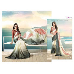 Georgette Embellished Saree