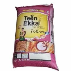 Indian Teen Ekka Sharbati Wheat, 1-50 Kg, Pack Type: Sack