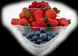 PET Fruit Foaming Tray