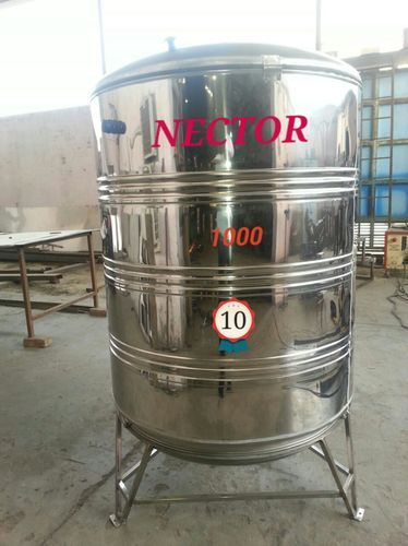 1000 Liter Ss Stainless Steel Water Storage Tank At Rs 29000 Unit Stainless Steel Water Tank Id 14722338488
