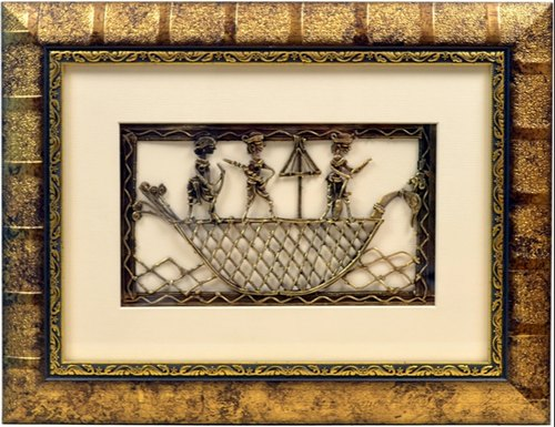 Dhokra Frames Size 10 X 13 Rs 1800 Piece Pushpam Arts Id