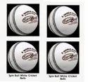 White Spin Cricket Ball