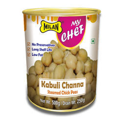 Milan My Chef Steamed Kabuli Chana, Packaging Type: Canned