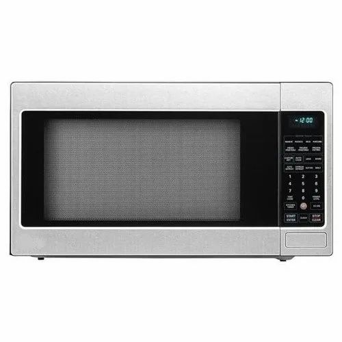 LG Black Countertop Microwave Oven, Model Number: V-780, Size: Small