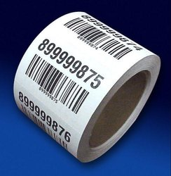 Adhesive Label Printed barcode label, for Packaging / bottles