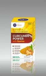 CURCUMIN TABLETS HERBAL PRODUCT