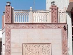 Stone Jali And Railing Grills