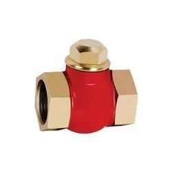Zoloto Bronze Vertical Check Valve