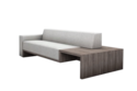 Sofa with Side Table