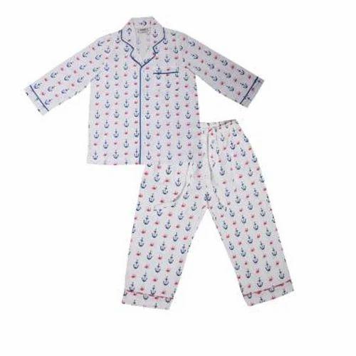 1a7a18e4c Cotton Kids Boys Night Suit