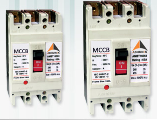 MCCB Switch Fuses Circuit Breakers Components