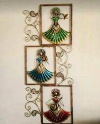 Unique Round Iron Wall Handicrafts IHK13010