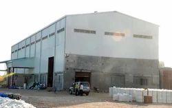 Mild Steel Prefabricated Industrial Buildings