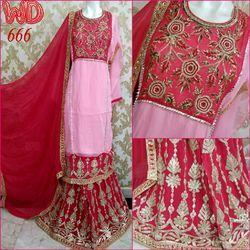 Georgette Sharara Suits W-666