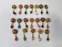 Fancy Kurti Metal Button, 100 Pieces, Packaging Type: Packet