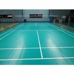 PU Badminton Flooring Services