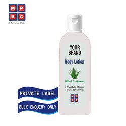 OEM or Private Label Body Lotion With Rich Aloevera