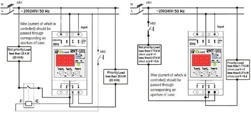novatek electro electronic overcurrent relay  220  piece
