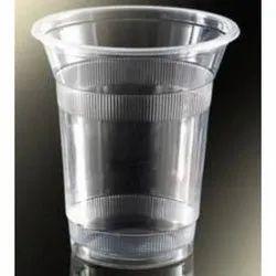Plastic Plain Disposable Transparent Glasses, 3 - 10 Mm, Capacity: 350 Ml