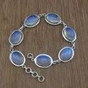 Turquoise Gemstone 925 Sterling Silver Jewelry Bracelet