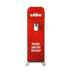 Automatic Sanitizer Dispenser Display Stand