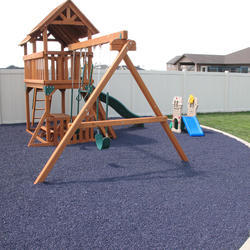 Outdoor Playground Rubber Flooring At