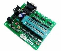ATMEL 8051 DEVELOPMENT BOARD WITH AT89S52, ZIF SUPPORT & MAX232 IC