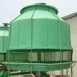 Three Phase Closed Loop FRP Induced Draft Cooling Tower, Cooling Capacity: 10 L/Sec, 380-415 V