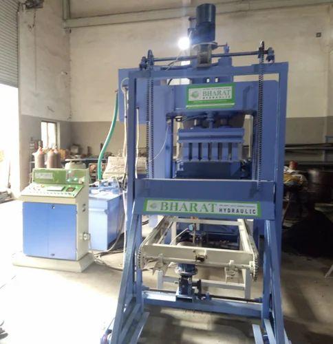 Automatic Fly Ash Bricks & Block Making Machinery With Auto Stacker