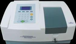 Single Beam Microprocessor UV/VIS Spectrophotometer