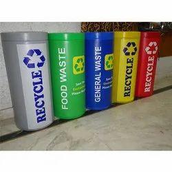 Round Bio Medical Dustbin