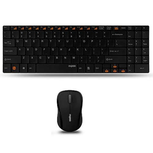 add2fee8f2a Rapoo 2.4G Wireless Mouse and Blade Keyboard Set With Number at Rs ...