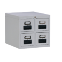 4 Drawers Card Index Cabinet