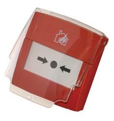 Manual Call Points (MCP):- Manual Call Point Hinged Cover (MCP Safety Cover For Morley MCP)
