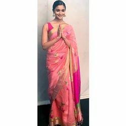 Party Wear, Festive Wear, Pure Silk Saree
