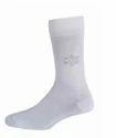 Men Formal Socks Full Leg White
