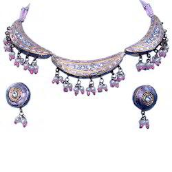 Jaipuri Necklace Earring Set 130