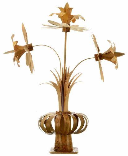 Godavari Tribal Craft S Bamboo Flower Vase Size Dimension 7 5 X 15