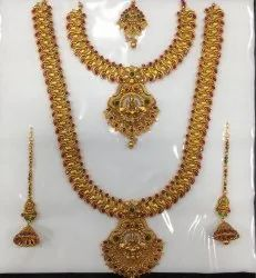 Brass Bridal Jewellery Set