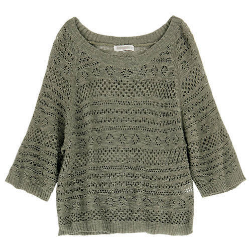 Grey Ladies Woolen Sweater 535aa95a3