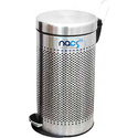 Stainless Steel Pedestal Type Perforated Dustbin