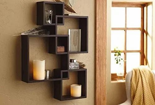Wall Shelf Rack For Living Room Set Of 4 Shelf Wooden Shelves Wall Mounted For Room And Decor From A At Rs 1350 Unit Wall Mounting Shelf व ल म उ ट ड श ल फ Amaze