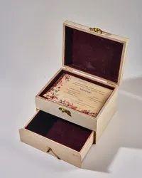 Box Invite Personalized themes Luxury Invitations