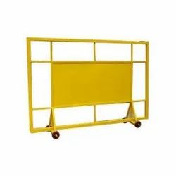 Mild Steel Traffic Police Barricade
