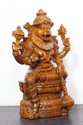Lord Narasimha Wooden Statue 36 Inches