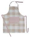 Checked Apron
