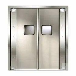 Stainless Steel Office Door
