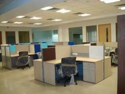 4 Seater Cluster Workstation