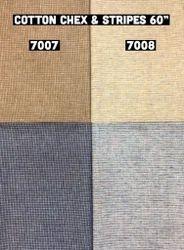 Cotton Chex & Stripes Fabric